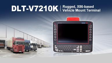 【New Product Announcement】The vehicle terminal for frequent writers – The new Advantech-DLoG DLT-V7210K