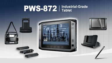 "【New Product Announcement】 PWS-872 10"" Rugged Tablet with Application-Oriented Peripherals"