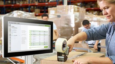 Optimizing Warehouse Operations by Using Advantech's UTC Series Touch Computers as Intelligent Warehouse Management Terminals