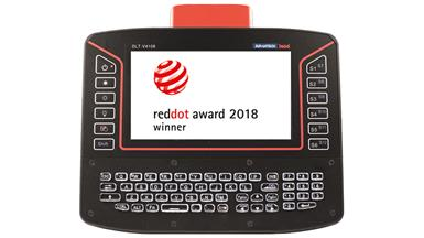 【Award】Advantech's DLT-V4108 Rugged Vehicle-Mounted Terminal with Red Cap Design Wins 2018 Red Dot Product Design Award