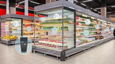 Advantech's Uninterrupted Cold Chain Management Solution Assists an International Hypermarket