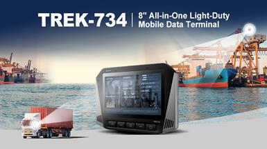 【New Product Announcement】TREK-734 All-in One Light-Duty Mobile Data Terminal with High-Performance Computing Solution for Port and Fleet Management