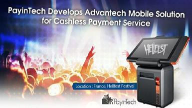 PayinTech Develops Advantech Mobile POS Solution for Cashless Payment Service