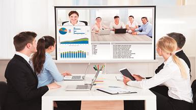Interactive Whiteboard Boosts Business Communication and Collaboration