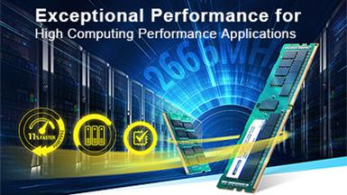 Advantech SQRAM DDR4 2666 Server Memory Solutions Empower High Performance Computing Applications