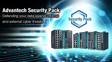 Advantech Security Pack Helps Defend Your Data against Internal and External Cyber Threats