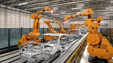 Robotic Manufacturing for Automobiles