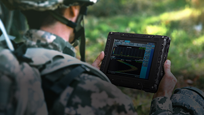 Advantech Vandal-Proof LCD Display Kit Enhances Impact Strength for Spectrum Analyzer in Defense...