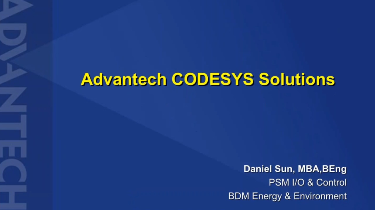 Advantech CODESYS Solutions