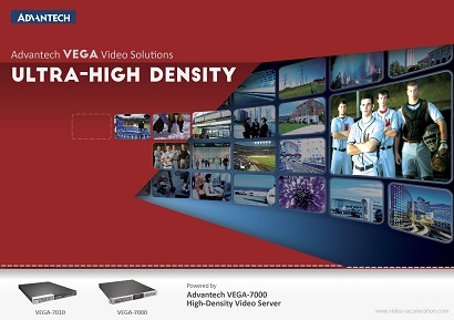 Advantech VEGA-7000 -- High-Density Video Server