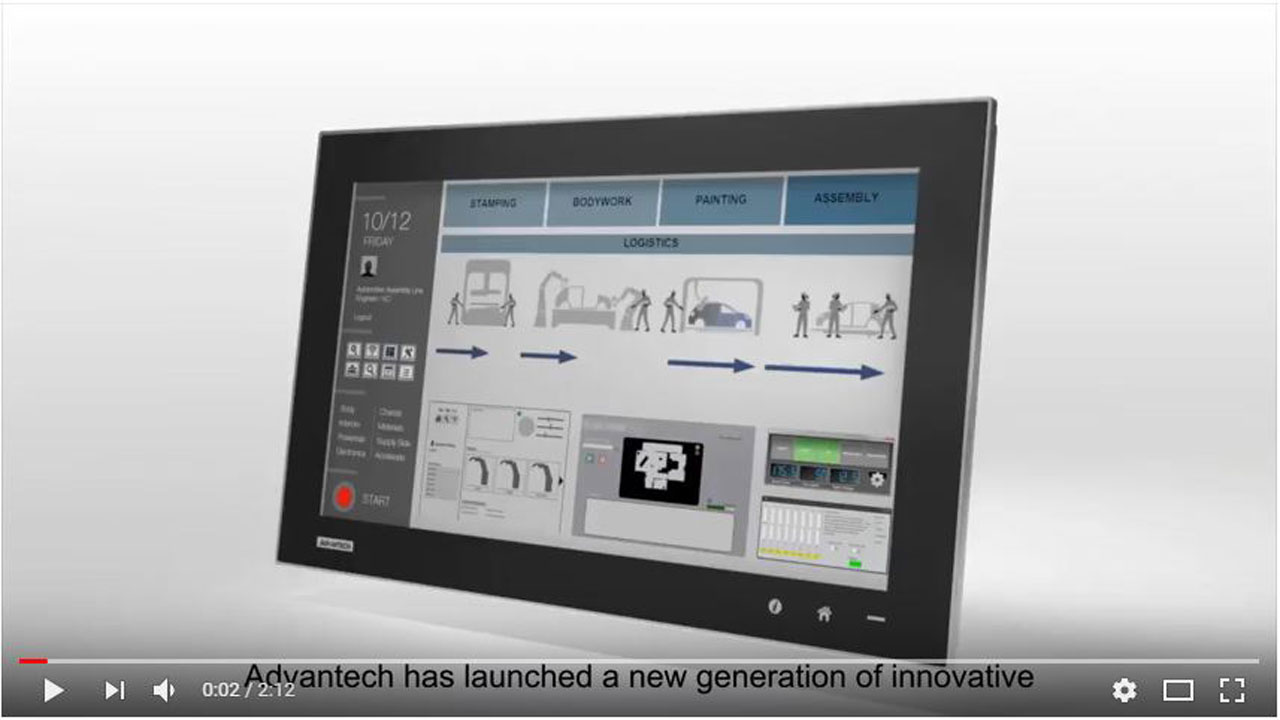 New generation of Industrial Monitor – the FPM-7002
