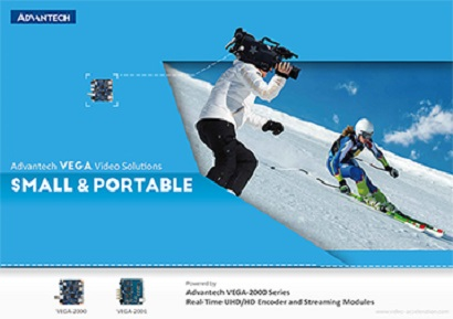 Advantech VEGA-2000 Series : Real-Time UHD/HD Encoder and Streaming Modules