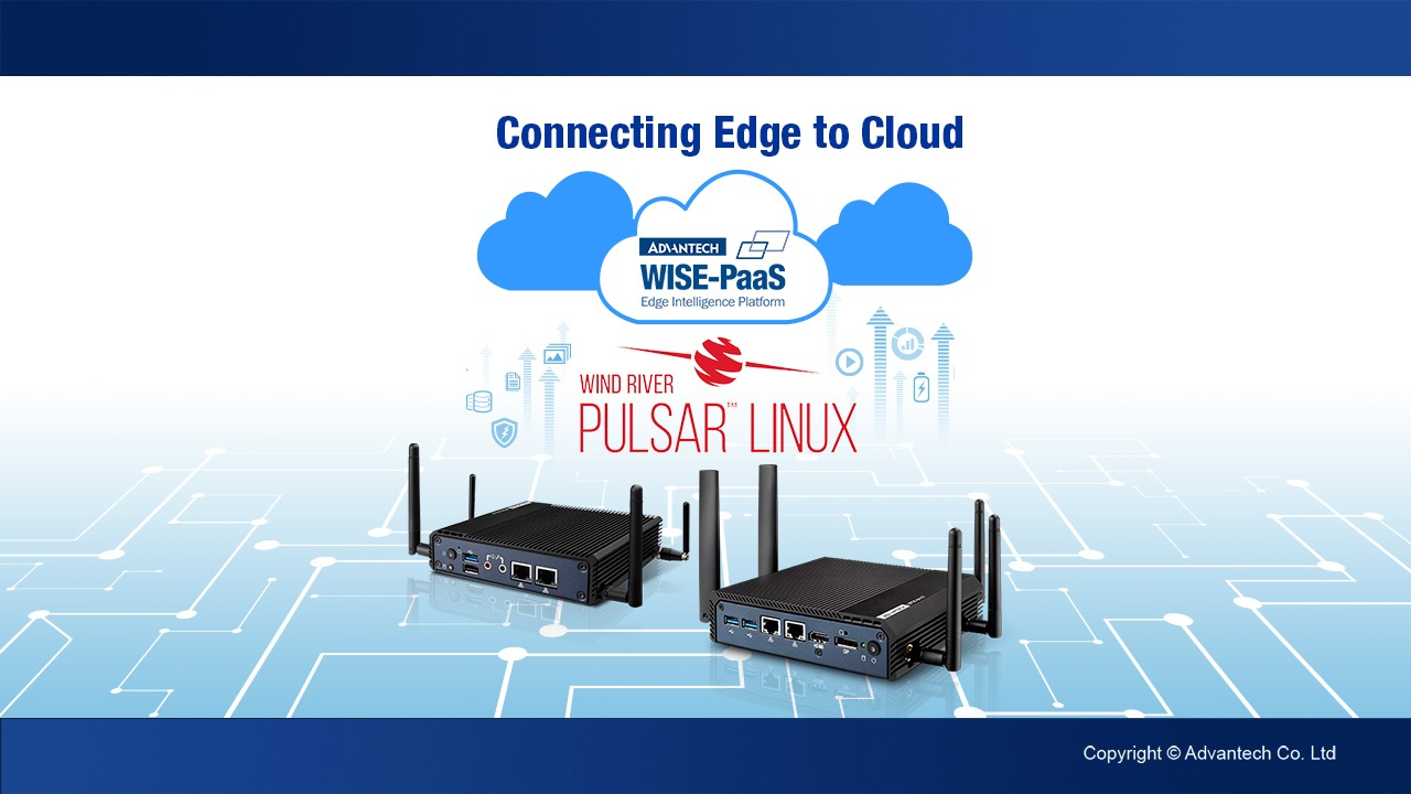 Connecting Edge to the Cloud, Advantech & Wind River