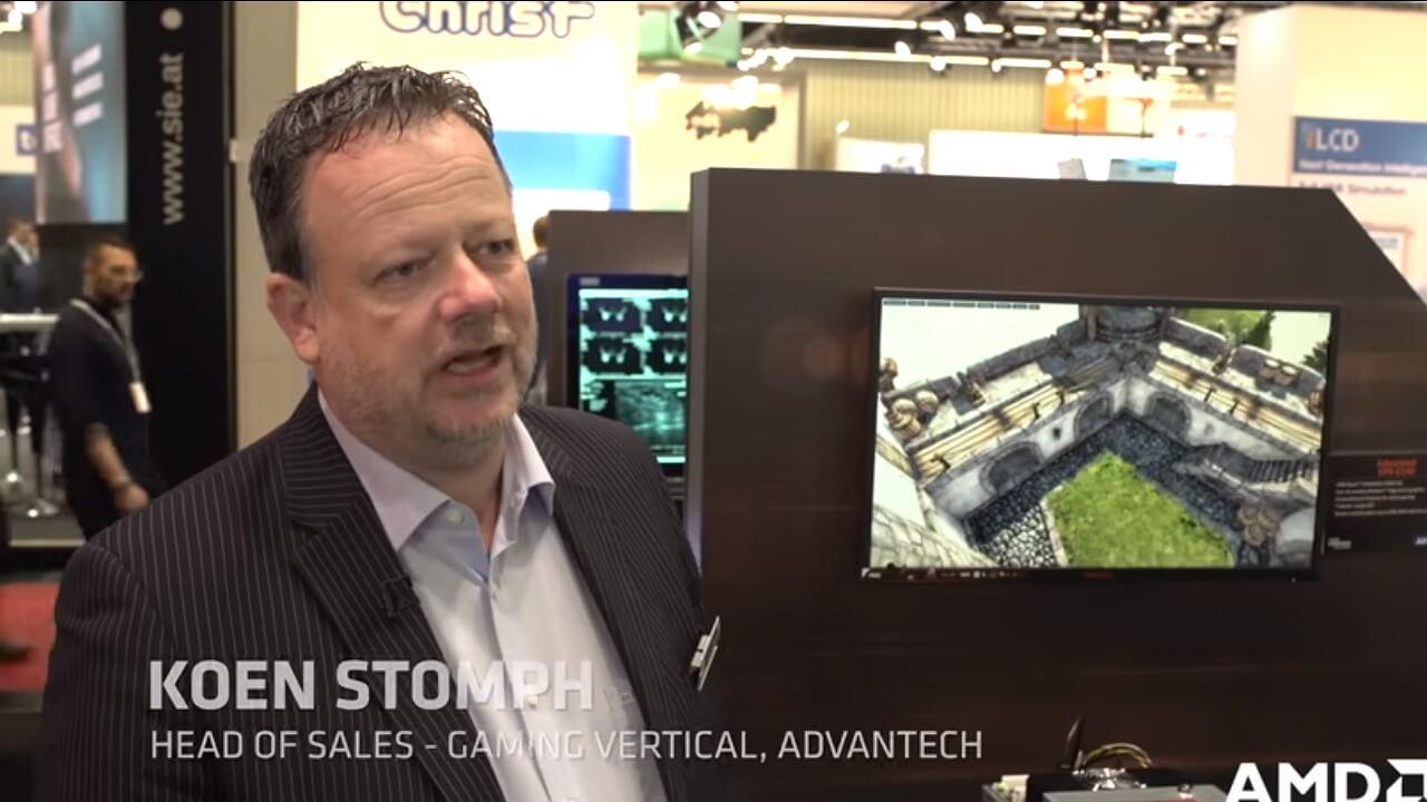 Advantech DPX-E140 Powered by AMD Ryzen™ Embedded V1000