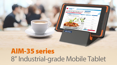 Advantech Launches AIM-35 Industrial-Grade Mobile Tablet for Retail and Hospitality Applications