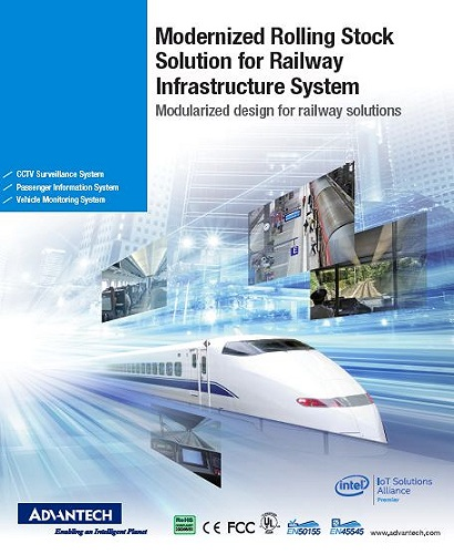 2018 Modernized Rolling Stock Solution for Railway Infrastructure System