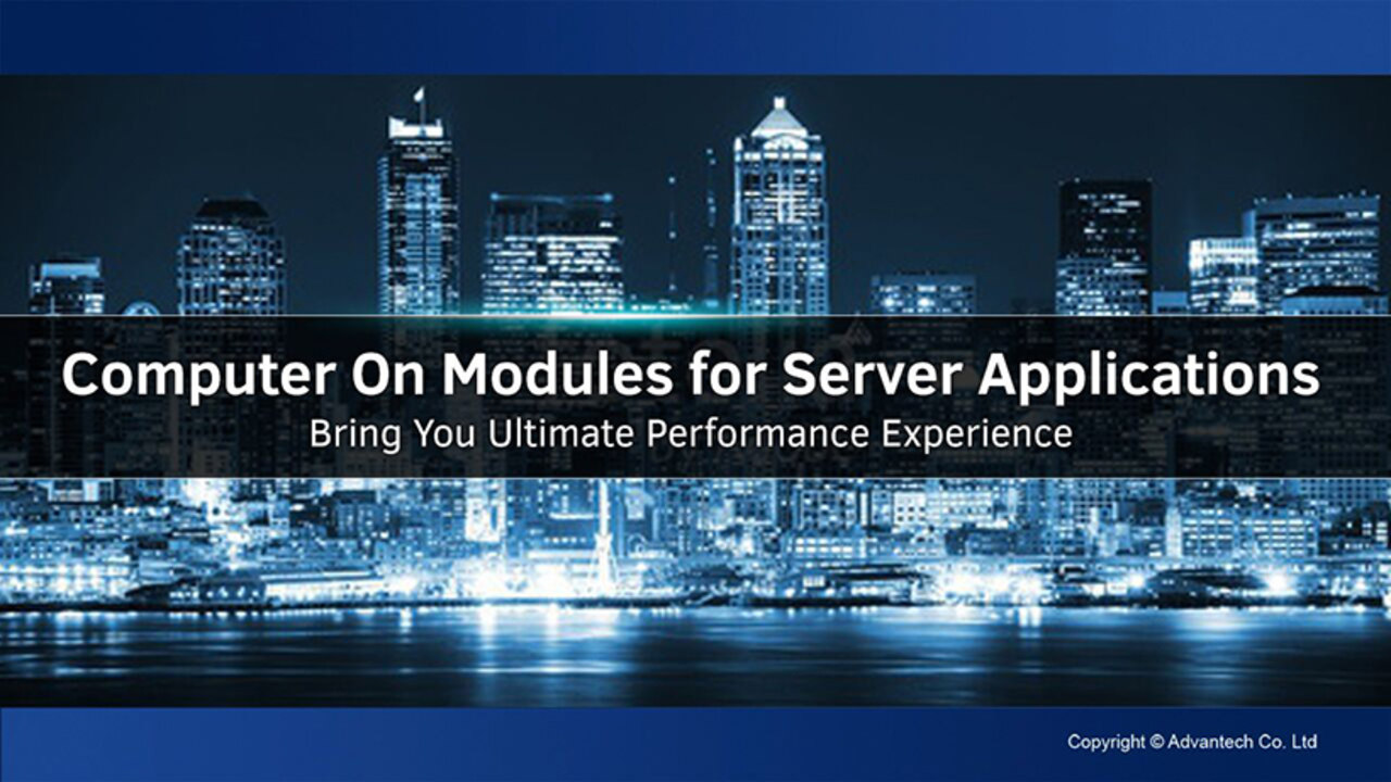 Computer On Modules for Server Applications