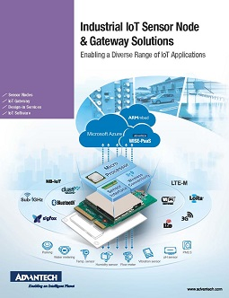 2017 Industrial Sensor Node & Gateway Solutions