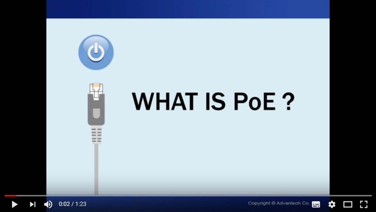 What is PoE?