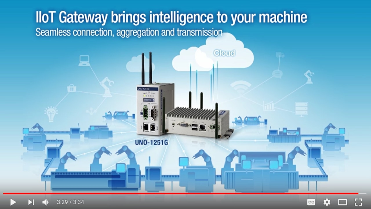 Cloud-enabled HMI edge Gateway-UNO-1251G, Advantech(EN)