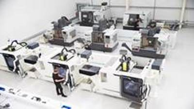 CNC machine tools networking solution for intelligent production management