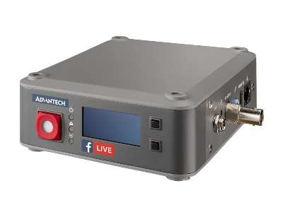 Live streaming encoder concept model based on the VEGA-2000