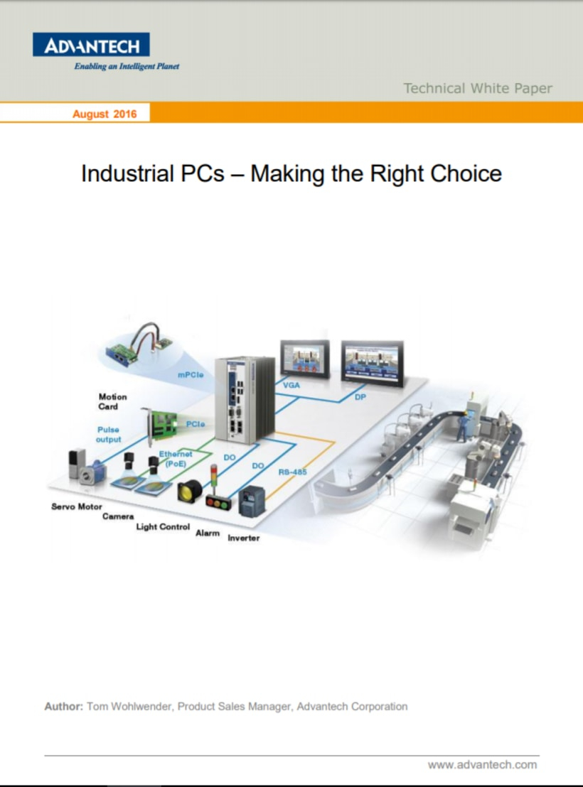 Industrial PCs – Making the Right Choice