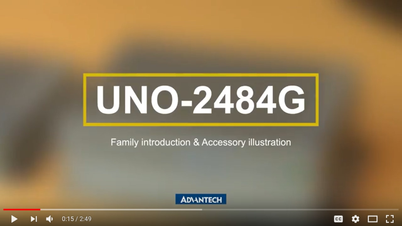 Advantech New Powerful yet Compact Modular Box Platform, UNO-2484G (EN)